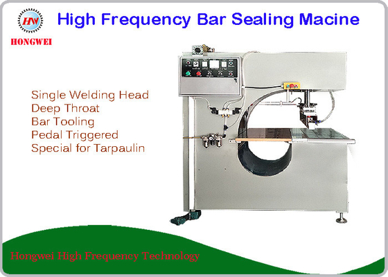 Deep Throat Type High Frequency Sealing Machine For Tarpaulin Bonding