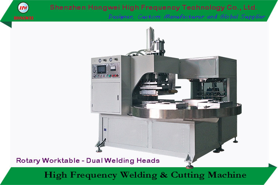 Turntable Rotary Manual Blister Packing Machine With Sealing / Trimming Function